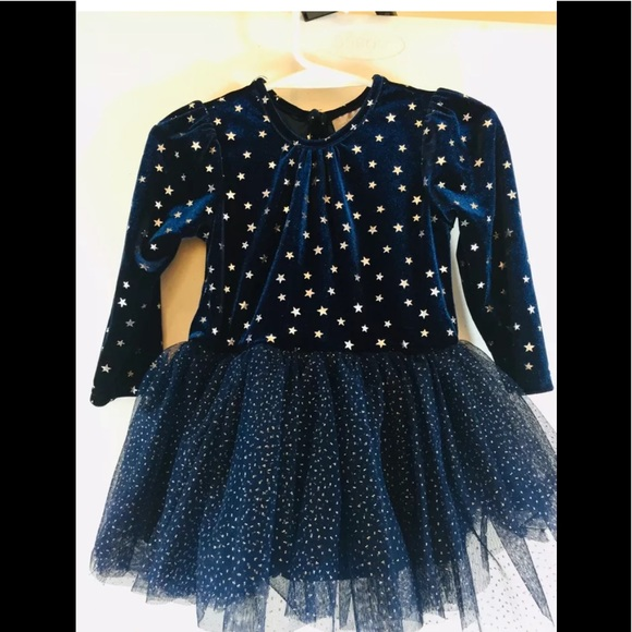 The Children's Place Other - Girl's Long Sleeve Tulle Skirts Shiny Star Tutu